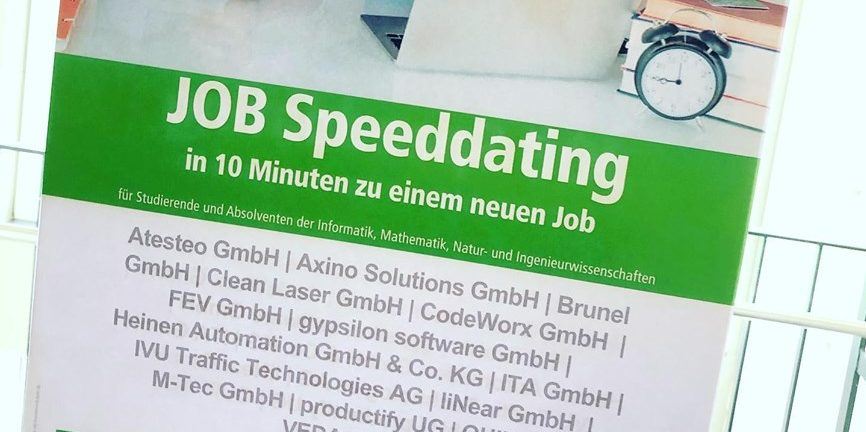 Job Speed-Dating in Aachen